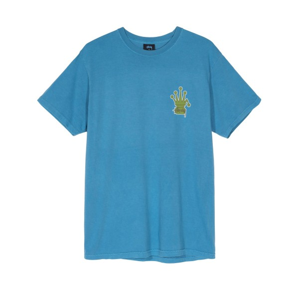 Stussy Crowned T-Shirt (Blue)