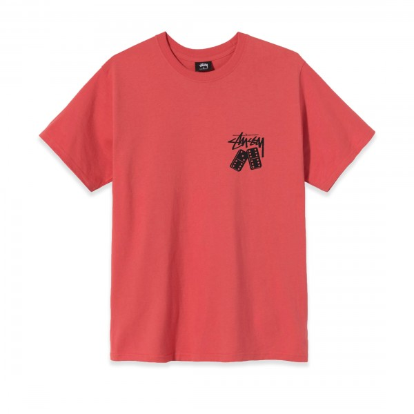 Stussy Dominoes T-Shirt (Red)