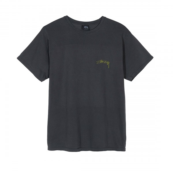 Stussy FU Dog Pigment Dyed T-Shirt (Black)