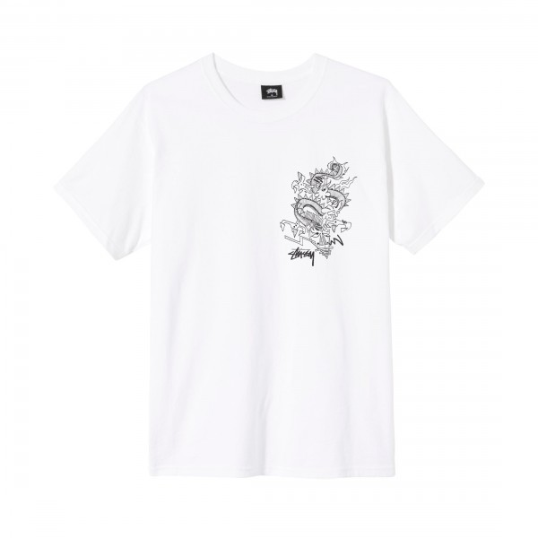 Stussy Funky Tribe T-Shirt (White)