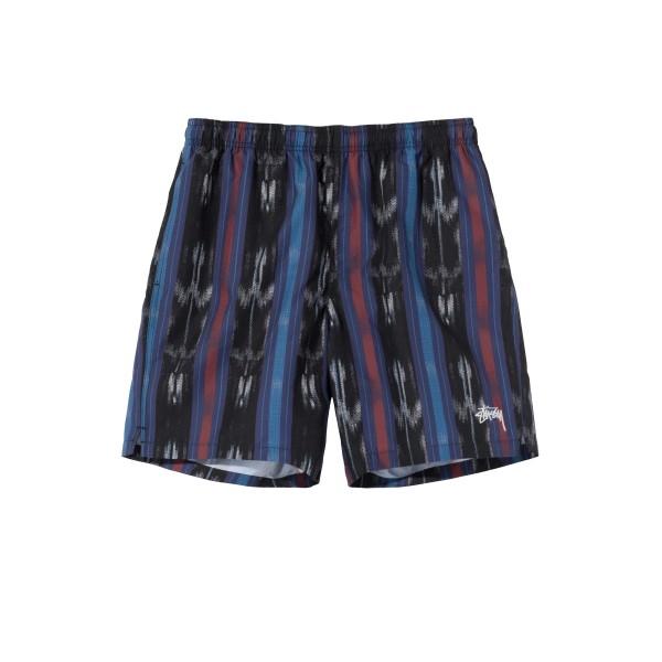 Stussy Ikat Stripe Water Short (Black)