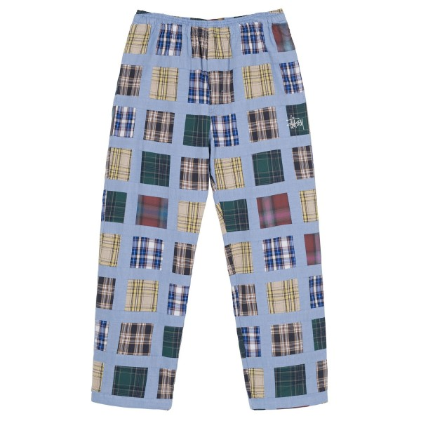 Stussy Madras Patchwork Relaxed Pant (Plaid)