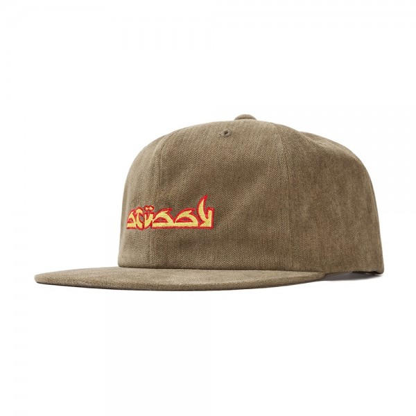 Stussy No Wale Cord Cap (Olive)