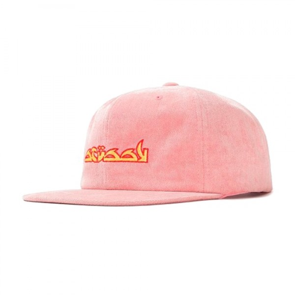 Stussy No Wale Cord Cap (Pink)