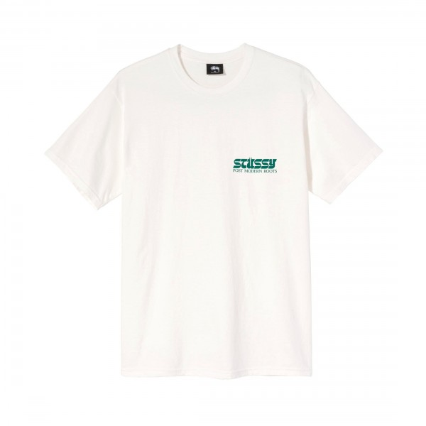 Stussy Post Modern Roots Pigment Dyed T-Shirt (Natural)