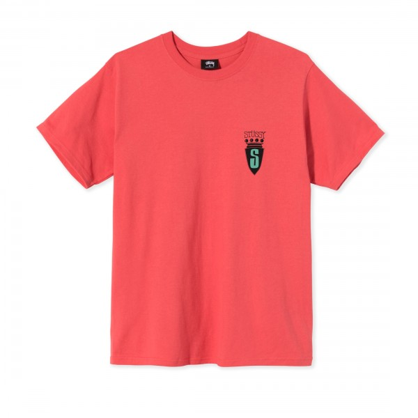 Stussy S Crest T-Shirt (Red)