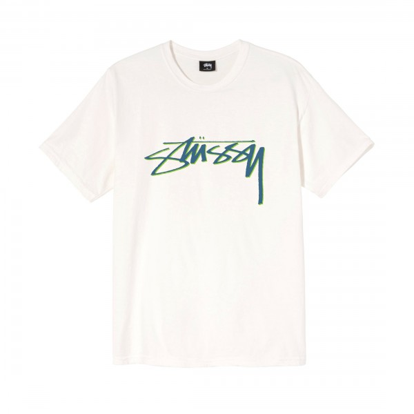 Stussy Smooth Stock Pigment Dyed T-Shirt (Natural)