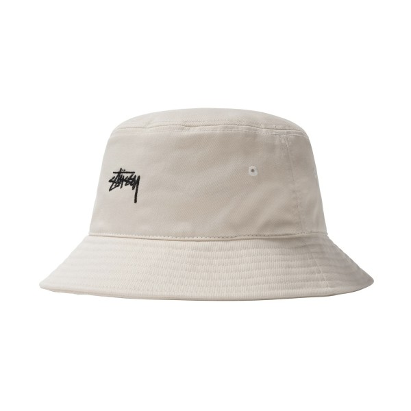 Stussy Stock Bucket Hat (Natural)