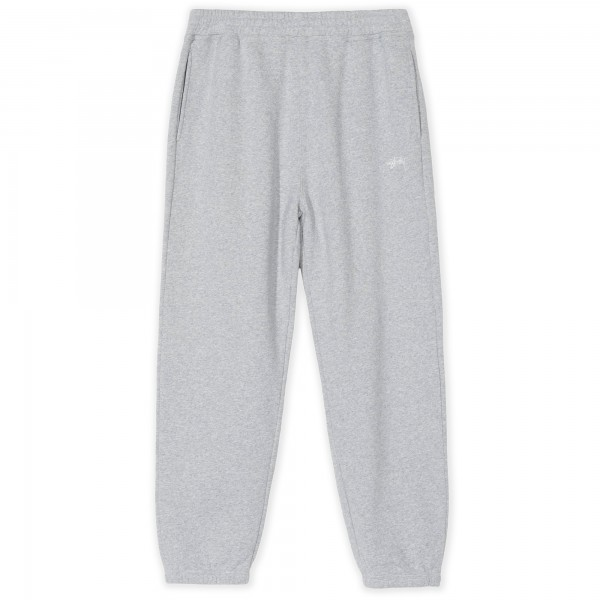 Stussy Stock Logo Pant (Grey Heather)