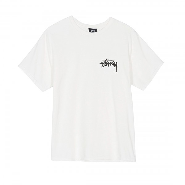 Stussy Stock Pigment Dyed T-Shirt (Natural)