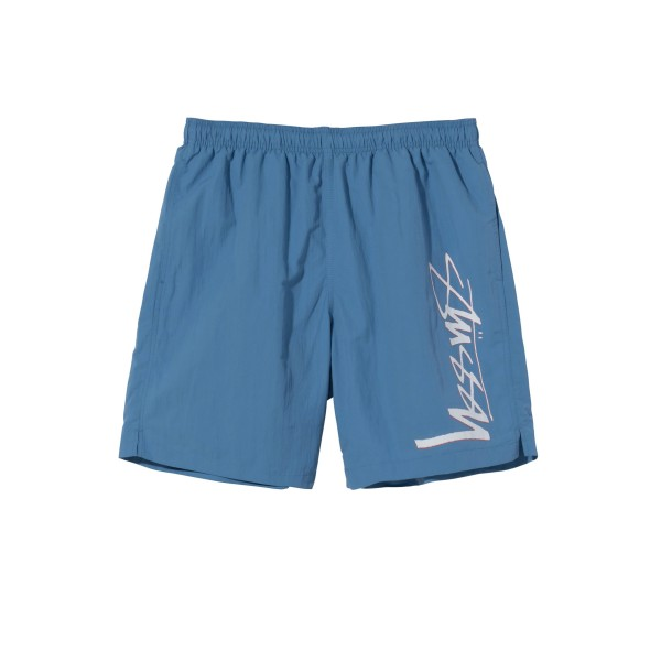 Stussy Smooth Stock Water Short (Blue)