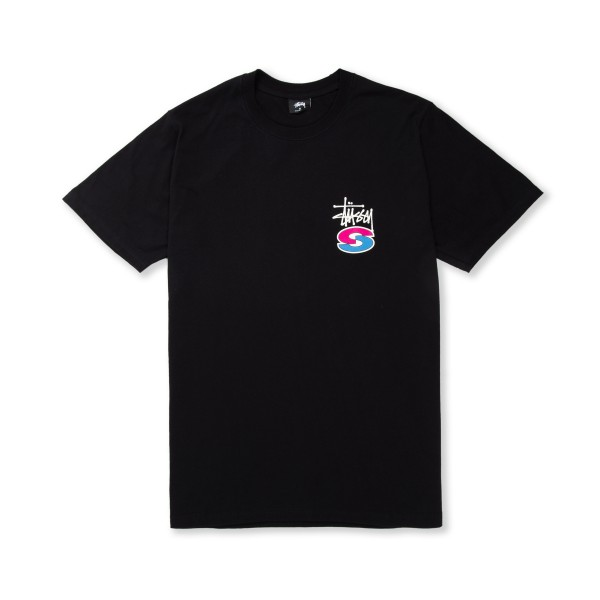 Stussy Super S T-Shirt (Black)