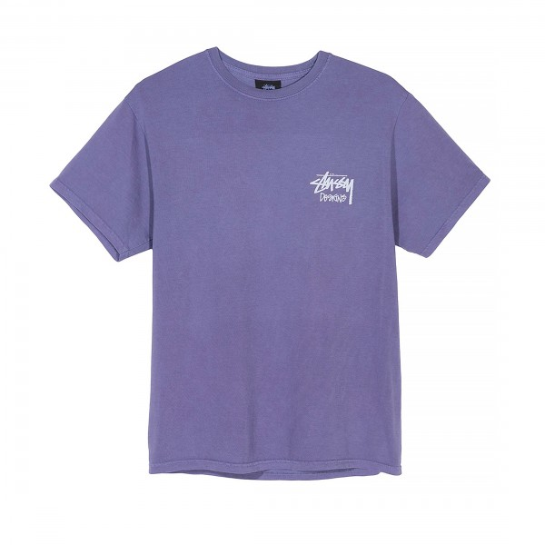 Stussy Venus Pigment Dyed T-Shirt (Purple)