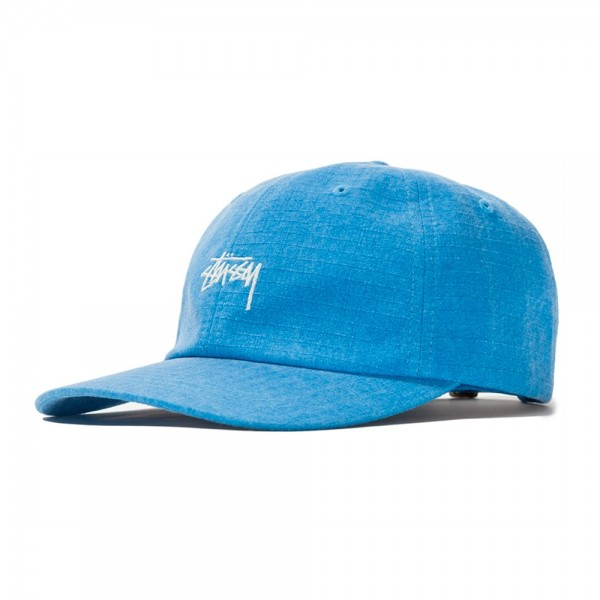 Stussy Washed Ripstop Low Pro Cap (Blue)