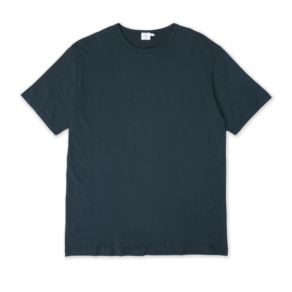 Sunspel Crew Neck T-Shirt (Moss)