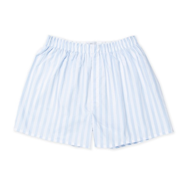 Sunspel Seasonal Boxer Short (Herringbone Stripe)