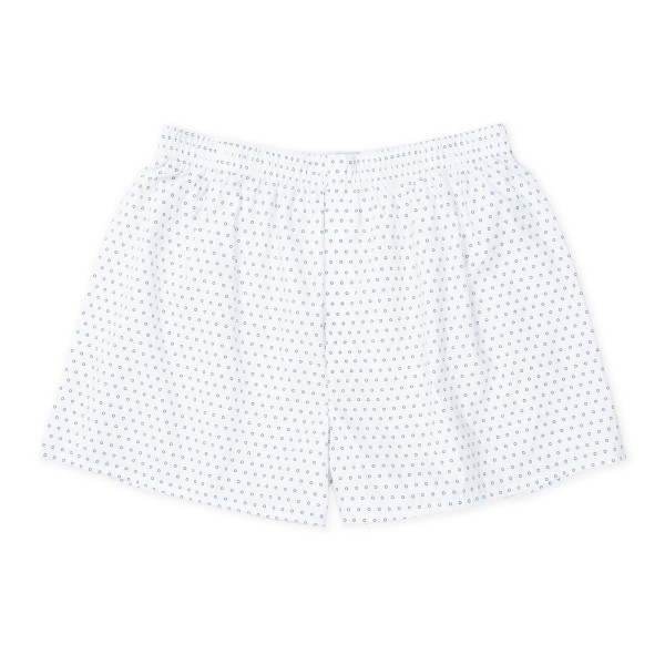 Sunspel Seasonal Boxer Short (White Circle)