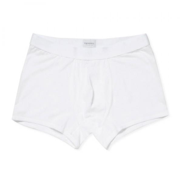 Sunspel Superfine Cotton Trunks (White)
