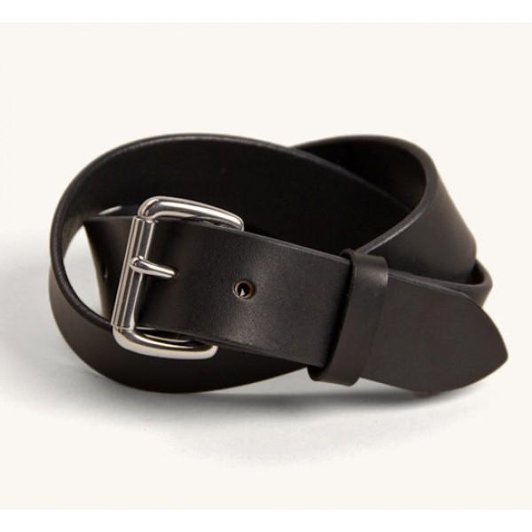 Tanner Goods Standard Belt (Black/Stainless)