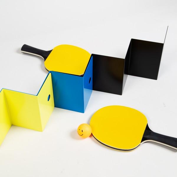 The Art of Ping Pong ZigZag ArtNet with Bats (Cartoon Strip)