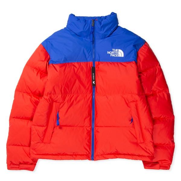 The North Face 1996 Retro Nuptse Jacket (Horizon Red/TNF Blue)