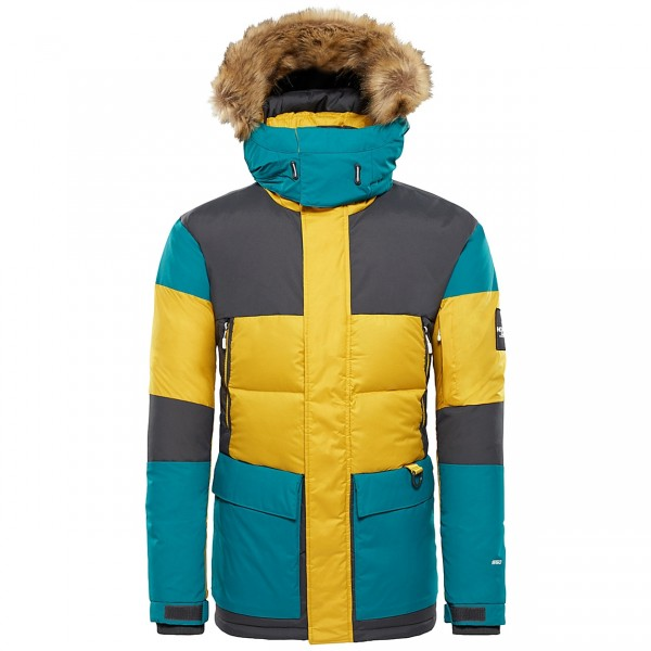 The North Face V-Stok Parka (Leopard Yellow)