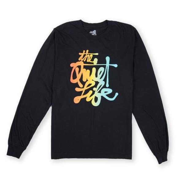 The Quiet Life Cody Script Long Sleeve T-Shirt (Black)