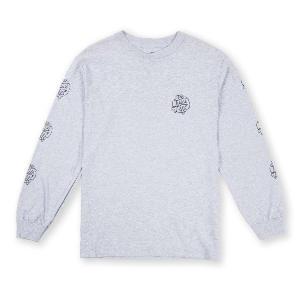 The Quiet Life Day Logo Long Sleeve T-Shirt (Heather Grey)