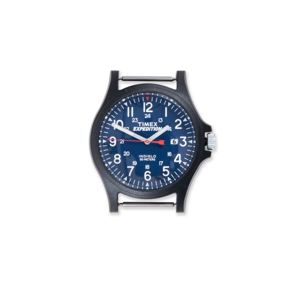 Timex Archive Acadia Watch Head (Black/Blue Dial)