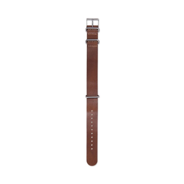 Timex Archive Leather NATO Watch Strap (Brown)