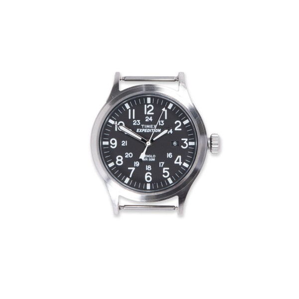Timex Archive Scout Watch Head (Stainless Steel/Black Dial)