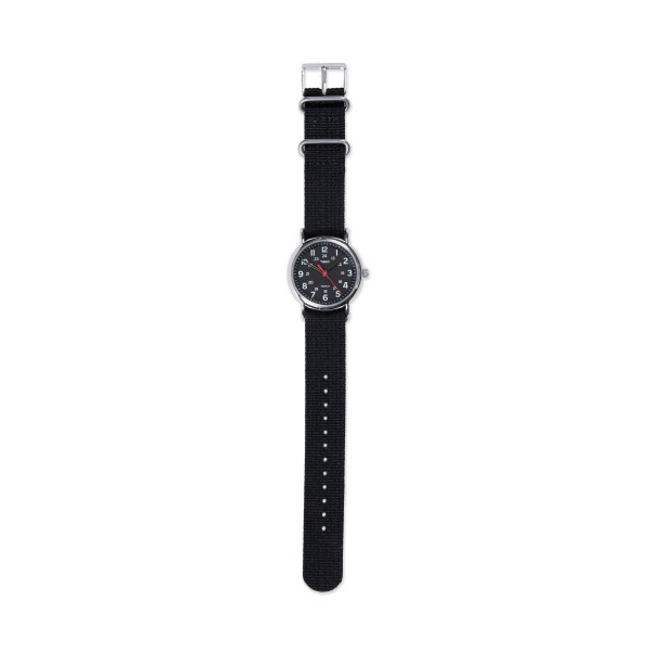 Timex Weekender Slip Thru Watch (All Black)