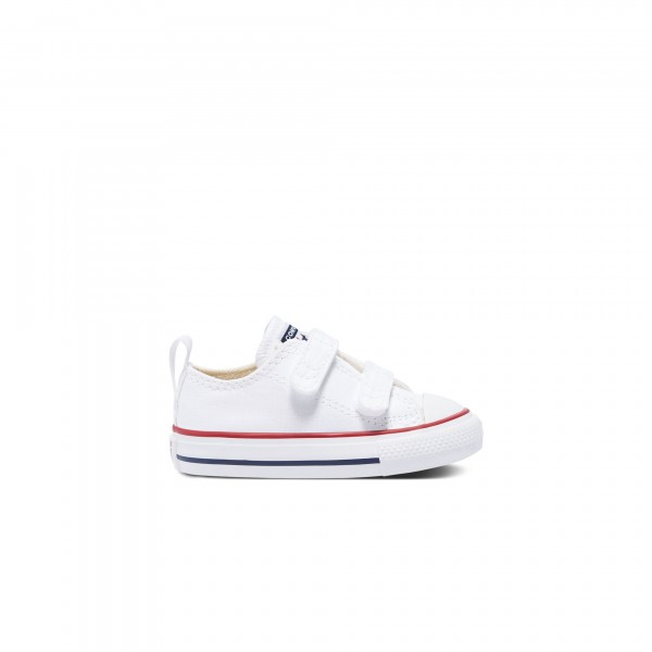 Toddlers' Converse Easy-On Chuck Taylor All Star 2V Ox (White/Garnet/Navy)