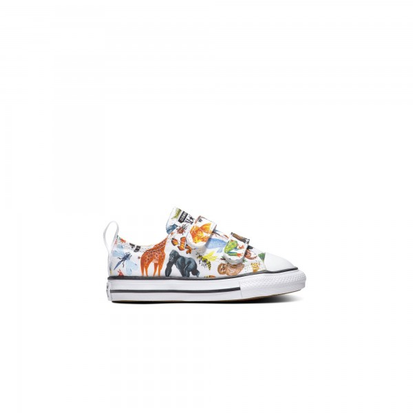 Toddlers' Converse Science Class Easy-On Chuck Taylor All Star 2V Ox (White/Black/White)