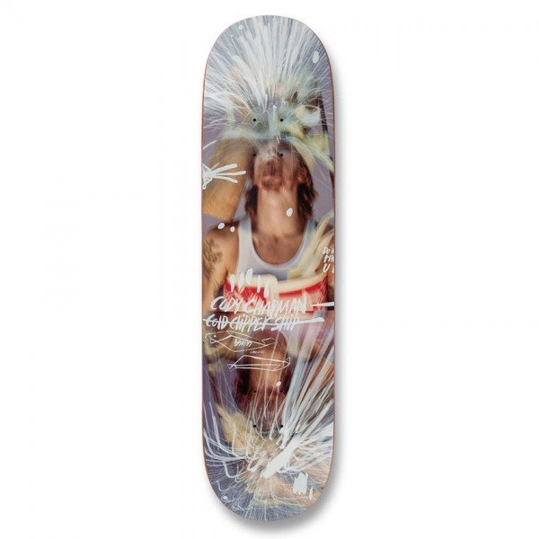 """UMA Landsleds Cody Taped Up Skateboard Deck 8.125"""""""