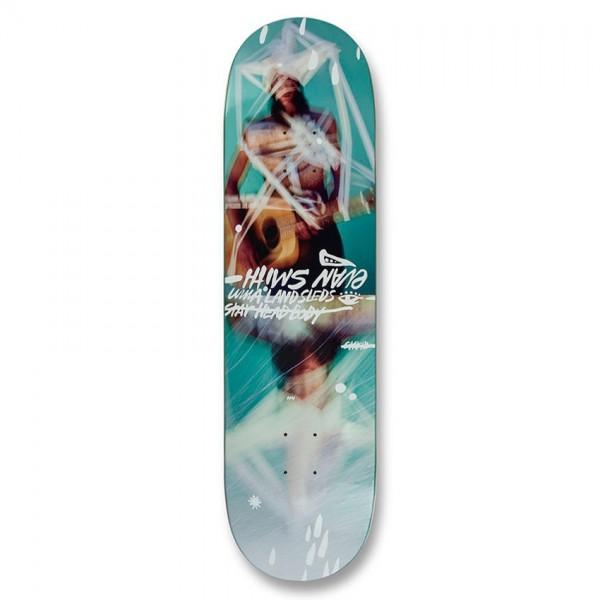 """UMA Landsleds Evan Taped Up Skateboard Deck 8.5"""""""