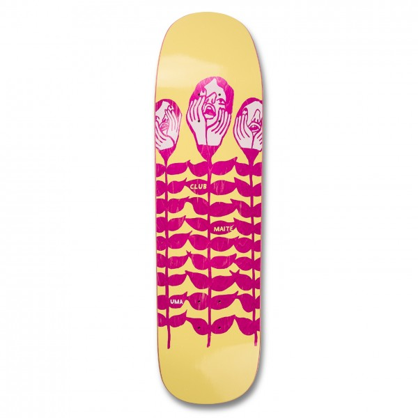 "UMA Landsleds Maité Abnormal Growth Skateboard Deck 8.7"""