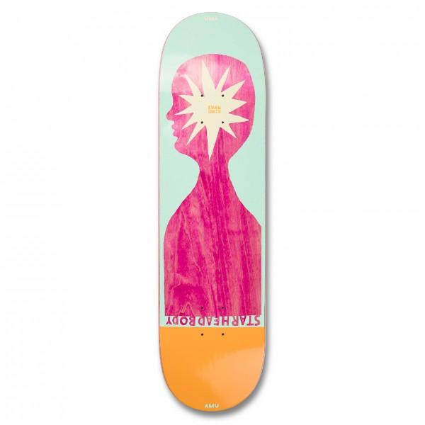 "UMA Landsleds Starheadbody Evan Smith Skateboard Deck 8.25"""