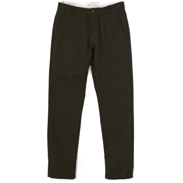Universal Works Aston Pant (Olive Penny Wool)