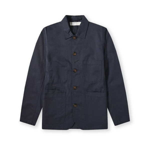 Universal Works Bakers Jacket (Navy)