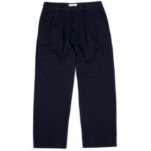 Universal Works Double Pleat Pant (Navy)