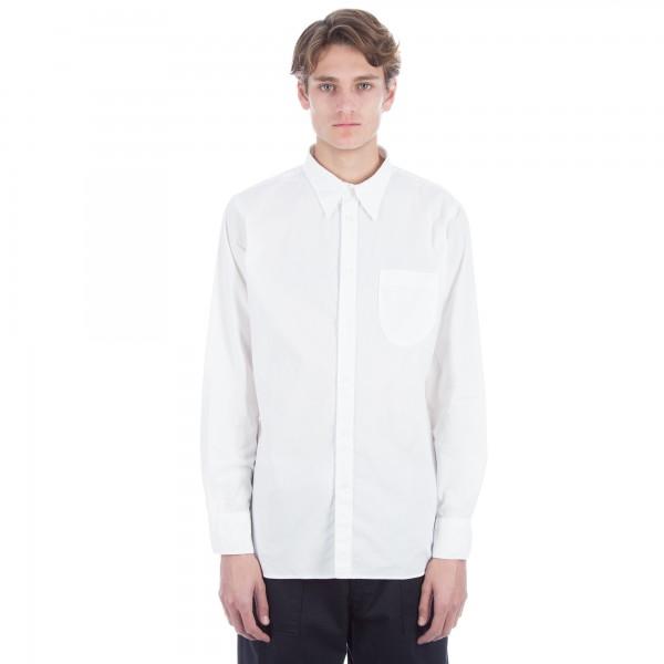 Universal Works Point Collar Shirt (Natural Poplin)
