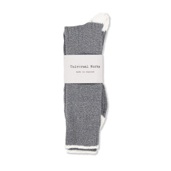Universal Works Simple Sock (Grey)