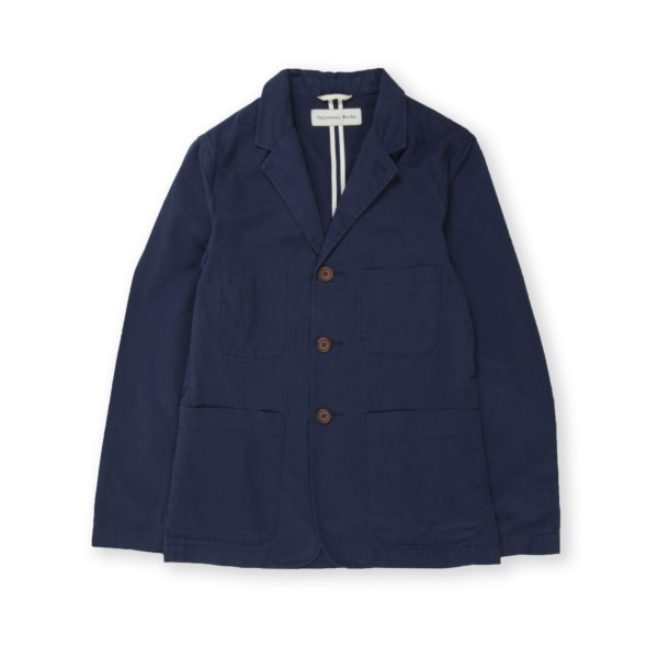 Universal Works Suit Jacket (Summer Twill Navy)