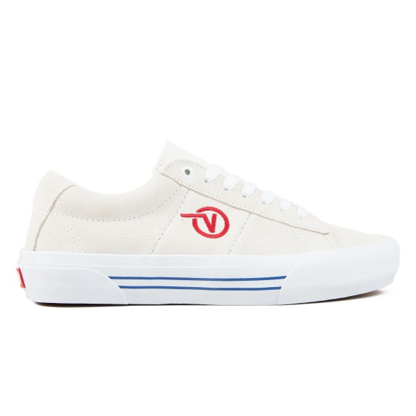 Vans Saddle Sid Pro (Marshmallow/Racing Red)