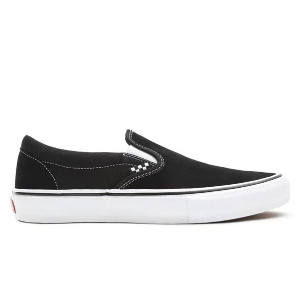 Vans Skate Classics Slip-On (Black/White)