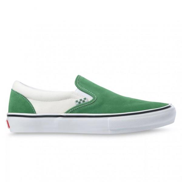 Vans Skate Classics Slip-On (Juniper/White)