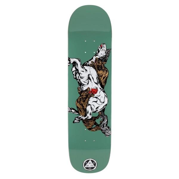 "Welcome Goodbye Horses Bunyip Mid Skateboard Deck 8.25"" (Jade)"