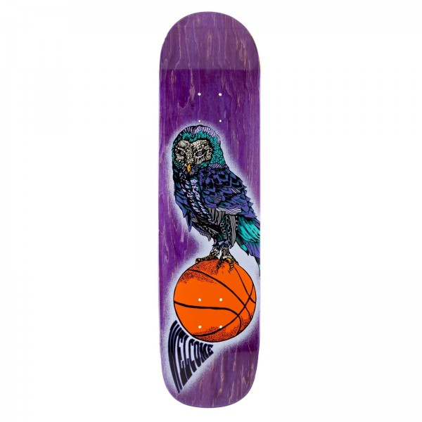 """Welcome Hooter Shooter Bunyip Skateboard Deck 8.0"""" (Various Wood Stains)"""