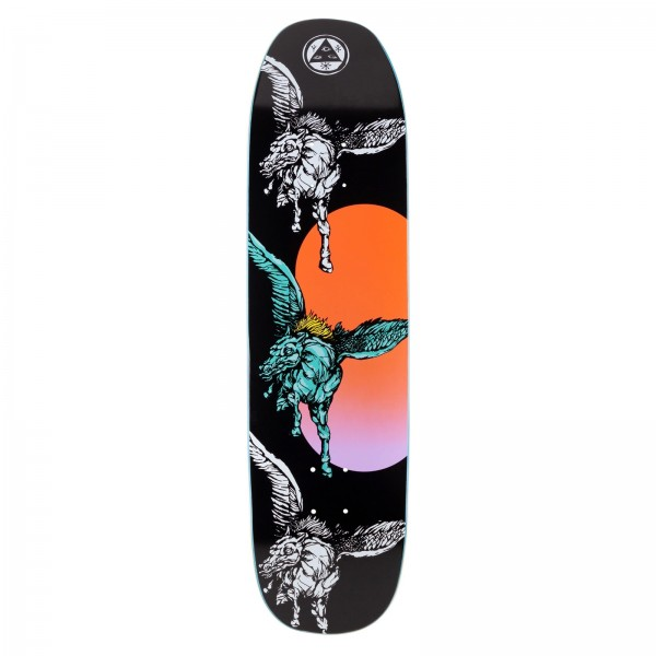 "Welcome Peggy Son of Moontrimmer Skateboard Deck 8.25"" (Black)"